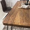 Picture of Solid Wood Sheesham Dining Table With Stable Legs