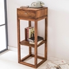 Picture of Solid Wood Patan Side Table With 1 Drawer