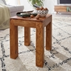 Picture of Solid Wood Sheesham Stool Cum Side Table