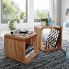 Picture of Solid Wood Landhous Set Of 2 Side Tables