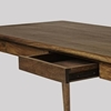 Picture of Solid Wood Ginsberg Dark Stained Desk