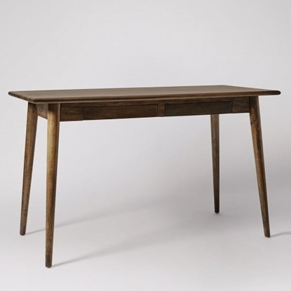 Picture of Ginsberg Desk, Dark Stained Mango Wood