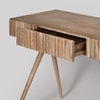 Picture of Engrave Solid Wood Desk
