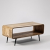 Picture of Solid Wood Luxury Tv Unit With Tapered Legs