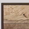 Picture of Solid Wood Henkel Bedside Framed In Iron