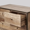 Picture of Solid Wood Henkel Chest Of Drawer Framed In Iron