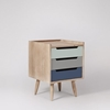 Picture of Solid Wood South Bedside In Multi Color