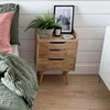 Picture of Solid Wood South Bedside In Natural Finish