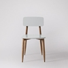 Picture of Solid Wood South Set Of 2 Chair In Grey Finish
