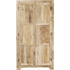 Picture of Solid Wood Mango Wardrobe Hand Carved