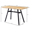 Picture of Solid Wood Dining Table With 3 cm Thick Top