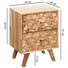 Picture of Solid Wood Rewa Bedside