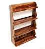 Picture of Brown Sheesham Wood Wall shelf