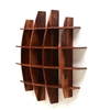 Picture of Wooden Brown Sheesham Wood Wall Shelf