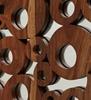Picture of Aura Sheesham Wood Rectangle Wall Art