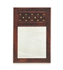 Picture of Sheesham Wood Bakhra Wall Mirror