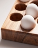 Picture of Dozen Wooden Egg Tray