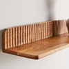 Picture of Solid Wood Engrave Wall Shelf