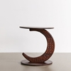 Picture of Solid Wood Crescent Side Table