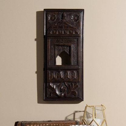 Picture of Wooden Wall Decor In Traditional Design