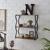 Picture of 3-Tier Zigzag Floating Wall Shelf