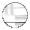 Picture of Metal Circular Open Wall Shelf
