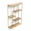 Picture of Iron and Wood Vertical Wall Shelf