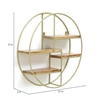 Picture of Iron and Wood Circular Wall Shelf