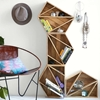 Picture of Solid Wood Set Of 4 Geo Shelf