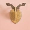 Picture of Wooden Reindeer Head Shield