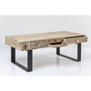 Picture of Solid wood pura coffee table With Iron Legs